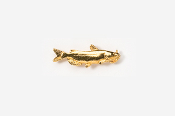#TT100G - Channel Catfish 24K Plated Tie Tac