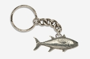 #K202 - Bluefin Tuna Antiqued Pewter Keychain