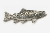 #115 - Brook Trout Antiqued Pewter Pin