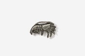 #M532 - Shrimp Pewter Mini-Pin
