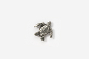 #M607 - Sea Turtle Pewter Mini-Pin