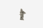 #M915 - Fireman Pewter Mini-Pin