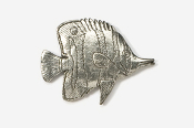 #271 - Butterfly Fish Antiqued Pewter Pin