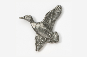 #321 - Flying Mallard Antiqued Pewter Pin