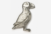 #341 - Puffin Antiqued Pewter Pin
