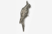 #355A - Cockatiel Antiqued Pewter Pin