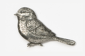 #371 - Chickadee Antiqued Pewter Pin