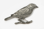 #375 - Bluebird Antiqued Pewter Pin