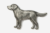 #450A - Labrador Retriever Antiqued Pewter Pin