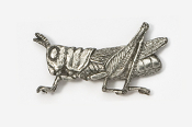 #577 - Grasshopper Antiqued Pewter Pin