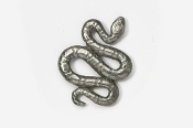 #606 - Snake Antiqued Pewter Pin
