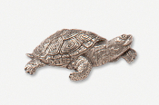 #609 - Terrapin Antiqued Pewter Pin