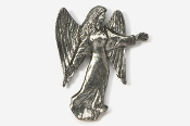 #975 - Angel Antiqued Pewter Pin