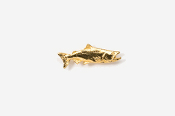 #TT124G - Chinook / King Salmon 24K Plated Tie Tac