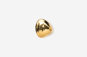 #TT540G - Clam 24K Plated Tie Tac