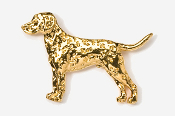 #456AG - Dalmatian 24K Gold Plated Pin