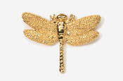 #569G - Dragonfly 24K Gold Plated Pin