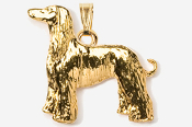 #P870AG - Afghan 24K Gold Plated Pendant