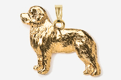 #P871G - Newfoundland 24K Gold Plated Pendant