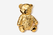 #970G - Teddy Bear 24K Gold Plated Pin