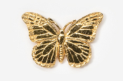 #572G - Monarch Butterfly 24K Gold Plated Pin