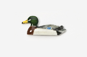 #310P - Mallard Decoy Hand Painted Pin