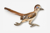 #359P - Roadrunner Hand Painted Pin