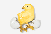 #382P - Chick and Egg Hand Painted Pin