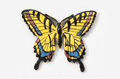 #570P - Tiger Swallowtail Hand Painted Pin
