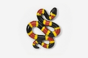 #606P - Snake Hand Painted Pin
