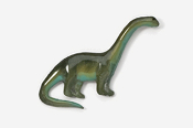 #620P - Brontosaurus Hand Painted Pin