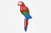 #354P-GW - Green Wing Macaw Hand Painted Pin