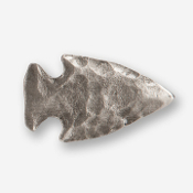 #D70201 - Large Arrowhead Pewter Drawer Pull