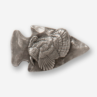 #D73261 - Large Arrowhead & Strutting Turkey Drawer Pull