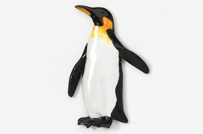 #343P - Penguin Hand Painted Pin