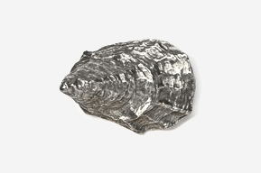 #544 - Oyster Antiqued Pewter Pin