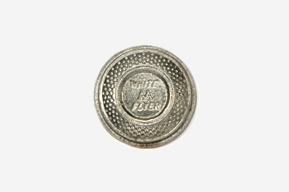 #800 - White Flyer Clay Pigeon Antiqued Pewter Pin