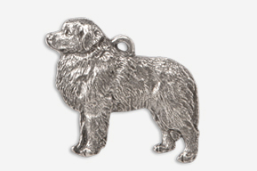 #872A - Great Pyrenees Antiqued Pewter Pin