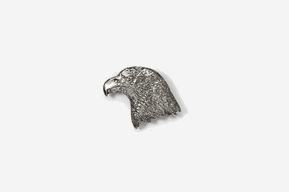 #M330 - Eagle Head Pewter Mini-Pin